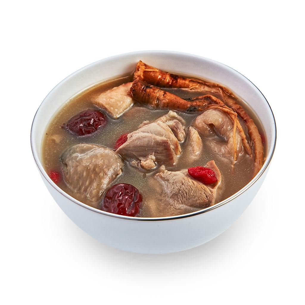 寶島鮮-人蔘雞湯 |雞湯、CAS嚴選土雞、養生、食補